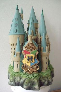 Hogwarts School Castle Cake Topper by BershoDesigns on Etsy