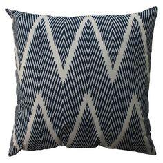 """Bali Oversized Toss Pillow - Navy (23x23"""") : Target"""