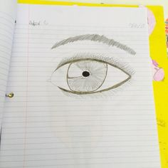 An eye that I messed up on