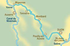 Le canal de Bourgogne à vélo avec un bébé de 18 mois. Une voie verte de Dijon à Tonnerre. Sommaire: •itinéraire •paysages •récit et photos.