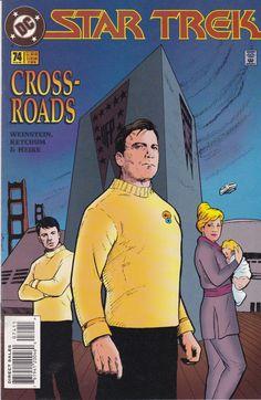 Star Trek Original Series Number 74 August 1995 DC Comics - science fiction - vintage comic - DC Comics - Star Trek - original series