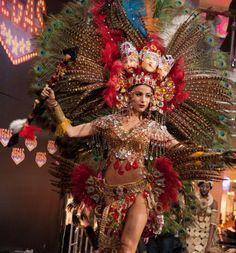 Winner of National Costumes, Miss Universe 2013 - Nastassja Bolivar, Nicaragua. Miss Universe 2013, Costume Contest, Carnival Costumes, Pageants, Central America, Brazil, Beautiful People, Ms, Dancer
