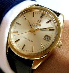 Beautiful Omega Seamaster Chronometer with date - 36mm oversize