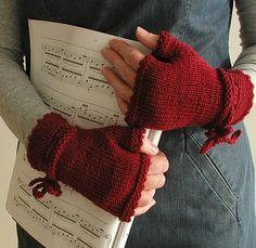 sweet fingerless gloves