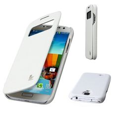 View time, battery status, SMS, music track and caller ID through the cutout window without opening the flip cover Fashion Folio Case for Galaxy S4 For Galaxy S4 (GT-I9500) White Shipping for UK , http://www.amazon.co.uk/dp/B00EOEC58S/ref=cm_sw_r_pi_dp_4eElsb0YW68MW