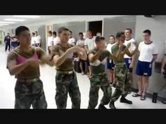 """Punishments aren't always a bad thing. lol. """"Telephone"""" Remake by a group of the US Naval Academy"""