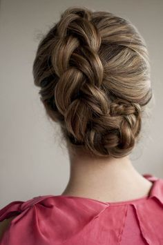 braid upstyle