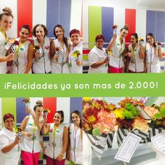 Porque hay días de colores: ¡¡ENHORABUENA a todo el equipo de Farmacia OCAÑA por esos mas de 2.000 clientes!! A seguir disfrutando EQUIPAZO DE COLOR! #reinventesufarmacia #fidelización Colors