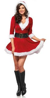 Forum Novelties Women's Sweet Miss Santa Suit, Red/White Christmas is fast approach, and soon Father Christmas will be coming down the ...