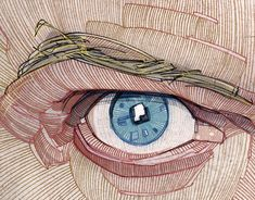 Stavros Damos on Behance Drawing Skills, Line Drawing, Sketchbook Drawings, Sketches, Eye Illustration, Caricature Artist, Hero Wallpaper, Color Pencil Art, 2d Art