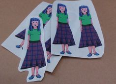 Denise (from Apple Pie Time) by ScruffyBirdDesigns on Etsy