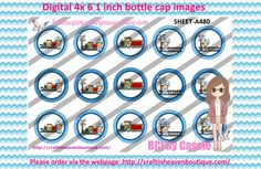 1' Bottle caps (4x6) Digital train boy brunette A480 OCCUPATIONS BOTTLE CAP IMAGES #OCCUPATIONS  #jobs #bottlecapimages #bottlecap #BCI #shrinkydinkimages #bowcenters #hairbows #bowmaking #ironon #printables #printyourself #digitaltransfer #doityourself #transfer #ribbongraphics #ribbon #shirtprint #tshirt #digitalart #diy #digital #graphicdesign please purchase via link  http://craftinheavenboutique.com/index.php?main_page=index&cPath=323_533_42_73