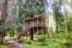 Check out this awesome listing on Airbnb: Tree House ~ Whidbey Island, WA  - Treehouses for Rent in Freeland