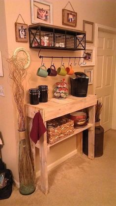 pallet shelves for kitchen 19