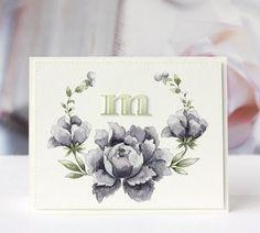 Peony Bouquet Stamp Set - Altenew