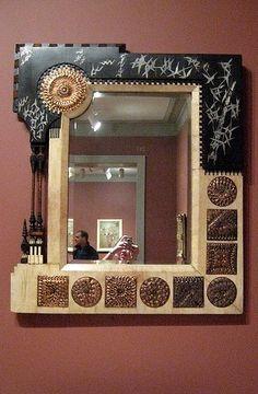 Mirror Frame, Italy, 1895 - 1902, Designed by Carlo Bugatti, 1856 - 1940  / игорь дикий /