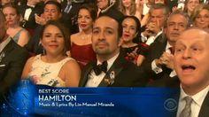 Lin-Manuel Miranda's acceptance speech- Hamilton wins Best Original Score Tony Awards 2016 Hamilton Tony Awards, John Laurens, Acceptance Speech, Lin Manuel Miranda, Scores, Musicals, Broadway Shows, Wisdom, Shit Happens