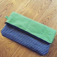 余った生地でクラッチバッグ♡ #クラッチ #クラッチバッグ #帆布 #キャンバス #ハンドメイド #バッグ #手作り #handmade #cluthbag #clutch  #bag #canvas