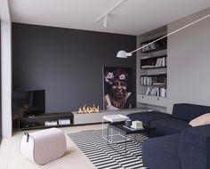 #interiordesign by #studioe_design_arch #minimalism #minimalisticinterior @boconcept_official @ikea_slovensko #carpet #hay #softline @flos_worldwide #slavín #bratislava #slovakia