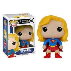 It's a bird… it's a plane… it's Supergirl! This Supergirl Pop! Vinyl Figure features Kara as an adorable vinyl figure! Standing about 3 3/4-inches tall, this figure is packaged in a window display box