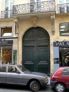 Paris Ier - n° 29 rue Danielle-Casanova immeuble MH
