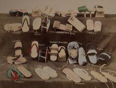 Title: Japanese Shoes  Artist: Kusakabe Kimbei  Artist Bio: Japanese, 1841 - 1934  Creation Date: c. 1890s  Process: albumen print