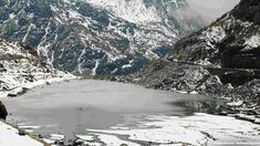 Cholamu Lake in Sikkim, India. Also known as the 'Tso Lhamu' Lake, Cholamu Lake lies at a distance of 6 km. from the Gurudongmar Lake and is considered to be the highest lake in India. Cholamu Lake is situated at a dizzying height of 5330 m. This surreal lake is also a short distance away from the Indo-Tibet Border in North Sikkim, and thus permits are required for visiting. Cholamu, being tucked away in the North Sikkim region, is lesser explored, and thus its beauty remains intact.