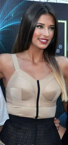 Picture of Antonia Iacobescu Romanian Girls, Date Outfits, Club Dresses, Winter Dresses, Most Beautiful Women, Straight Hairstyles, Fit And Flare, Sexy Women, Lady