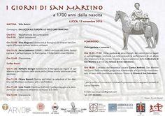 """Italia Medievale: """"I giorni di San Martino"""" a Lucca"""