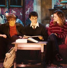 Ron Weasley, Harry Potter & Hermione Granger