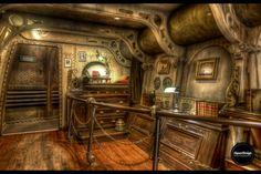 Nemo's bedroom at Disneyland Paris | Quentin Denoël, 500px
