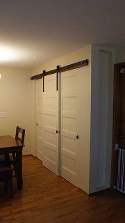 Triple Sliding Wardrobe Door Track | Home Improvement Diy | Pinterest |  Sliding Wardrobe Doors, Sliding Door And Sliding Closet Doors