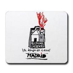Mousepad > Dagugli Little Art Shop  Dibujamos en tu casa