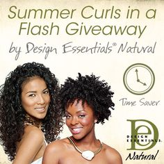 I just entered Design Essentials Summer Curls in a Flash Giveaway to win some amazing curly hair prizes on NaturallyCurly.com! You should enter too. It's easy, click here: http://www.naturallycurly.com/giveaways/Design-Essentials-NC-AugustGiveaway-2014/st/53e7464ad3f2d9.79044571