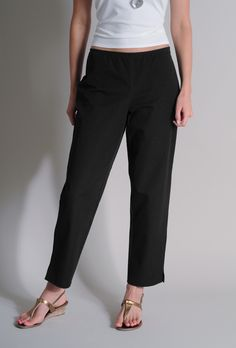 I saved 20% by sharing:  Eileen Fisher Organic Cotton Stretch Twill Slim Ankle Pant