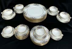 Stunning Lenox Fine China The Orchard 40 Piece Service for 8  #Lenox
