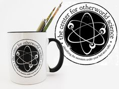 Center for Otherworld Science Mugs by Shing Yin Khor, via Kickstarter.  The Center for Otherworld Science studies and identifies all sorts of monsters and critters. We also drink lots of coffee.