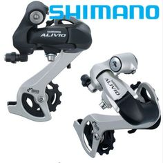 Silver Brand New Original Numerous In Variety Shimano Alivio Rd-m410 Mountain Bike Rear Dial 8 Speed 24 Speed Transmission Black