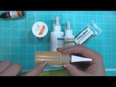 Fun Stampers Journey Glaze and re inkers for enamel dots -