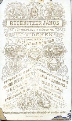 1880s, Rechnitzer, Újvidék
