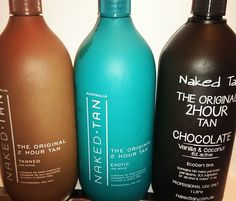 3 perfect shades suitable for everyone. We also have a certified organic tan. Naked tan are beautiful natural looking tans. Keep that summer glow throughout winter. We have a loyalty program for our tans buy 5 get the 6th free. Perfect weather for a facial book in today or tomorrow spaces available.