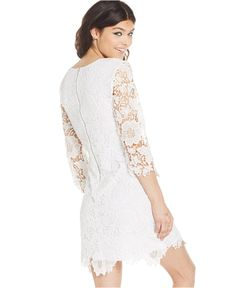Speechless Juniors' Lace Sheath Dress - Juniors Graduation Dresses - Macy's