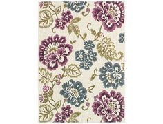 Couristan Dolce Rectangular Ivory Area Rug