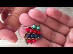 Spring Model Bracelet (Necklace, Earring) Making (An Existing Technical Model Design Belong To Me) Easy Bracelet - Spring Model Bracelet (Necklace, Earring) Making (An Existing Technical Model Design Belong To Me) - Bracelets Design, Mens Gold Bracelets, Silver Bangles, Love Bracelets, Handmade Bracelets, Bangle Bracelets, Jewelry Design, Beaded Bracelets Tutorial, Seed Bead Bracelets