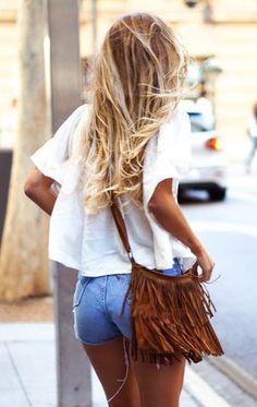#summer #fashion / short shorts