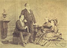 Prince Gaston d'Orléans and Isabel, Princess Imperial of Brazil  Married: 15 October 1864 at the Imperial Chapel in Rio