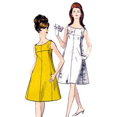 Vogue Vintage Dress Patterns « Design Patterns