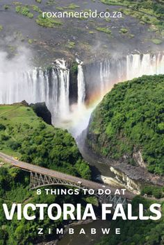 8 things to do at Victoria Falls, Zimbabwe #Africa #travel