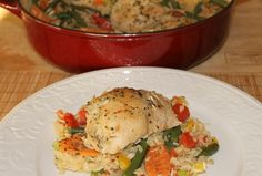 Italian Chicken and Rice Casserole Recipe (640x433)