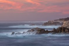 Sunset in California'sGarrapata State Park